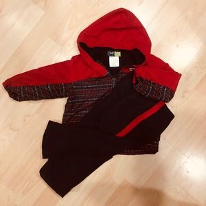 Lined Winter Coat and Pant set